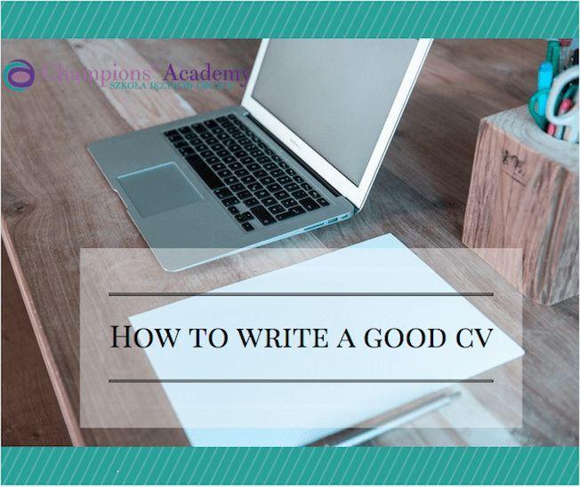 Jak Napisać Profesjonalne Cv W Języku Angielskim Praca Artykuły